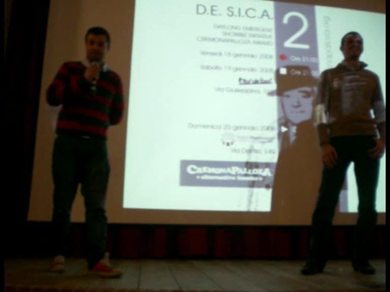 D.E.S.I.C.A. 2 - serata premiazioni - 1a parte