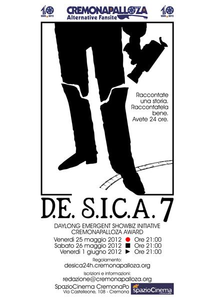 Locandina D.E.S.I.C.A. 7