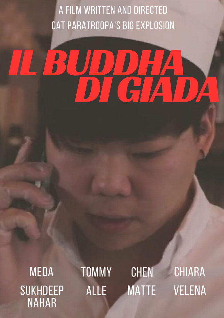 14 - Cat paratroopa's big explosion - Il buddha di giada Poster